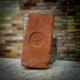 KT vágott címeres nagyméretű antik tégla