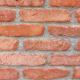 Bontott, szeletelt műemléktégla maltermentesített prémium kivitelben vörös színben